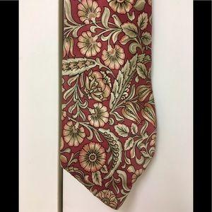 Vintage 80's Geoffrey Beene silk tie